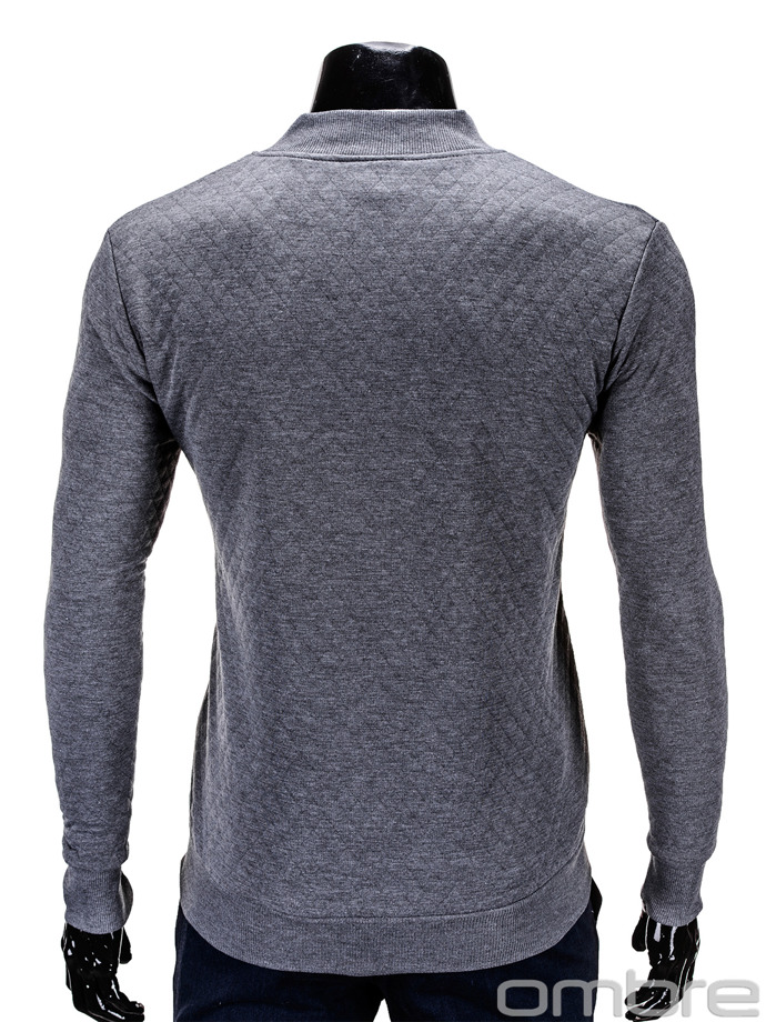 Men's sweatshirt B545 - dark grey