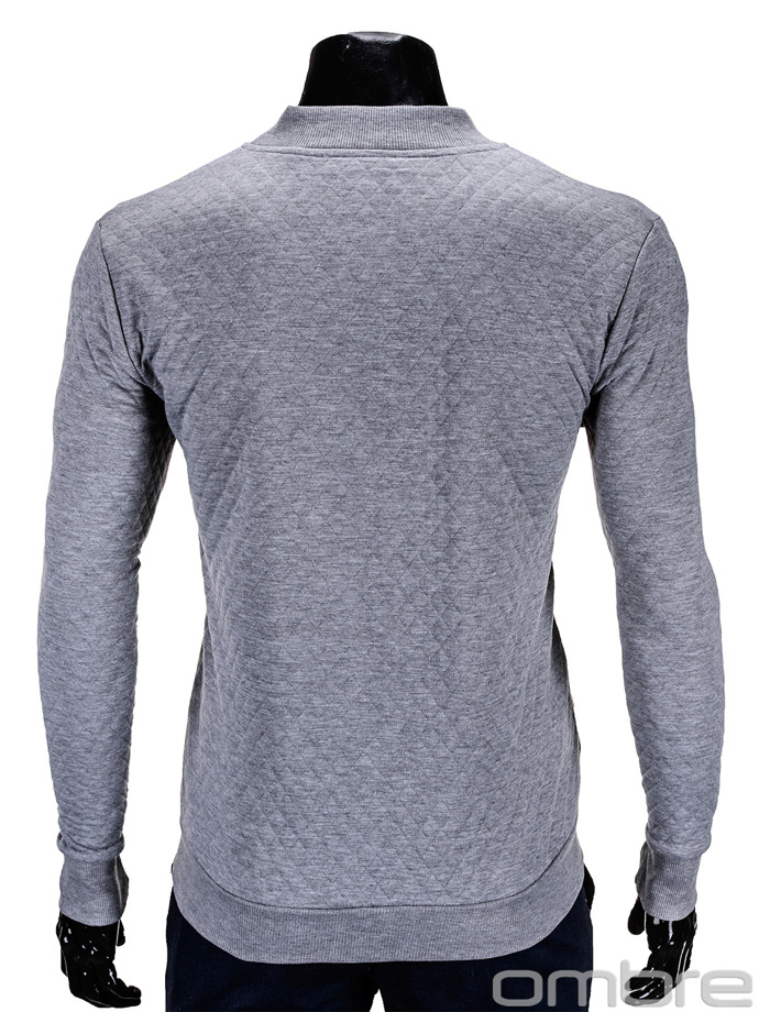 Men's sweatshirt B545 - grey