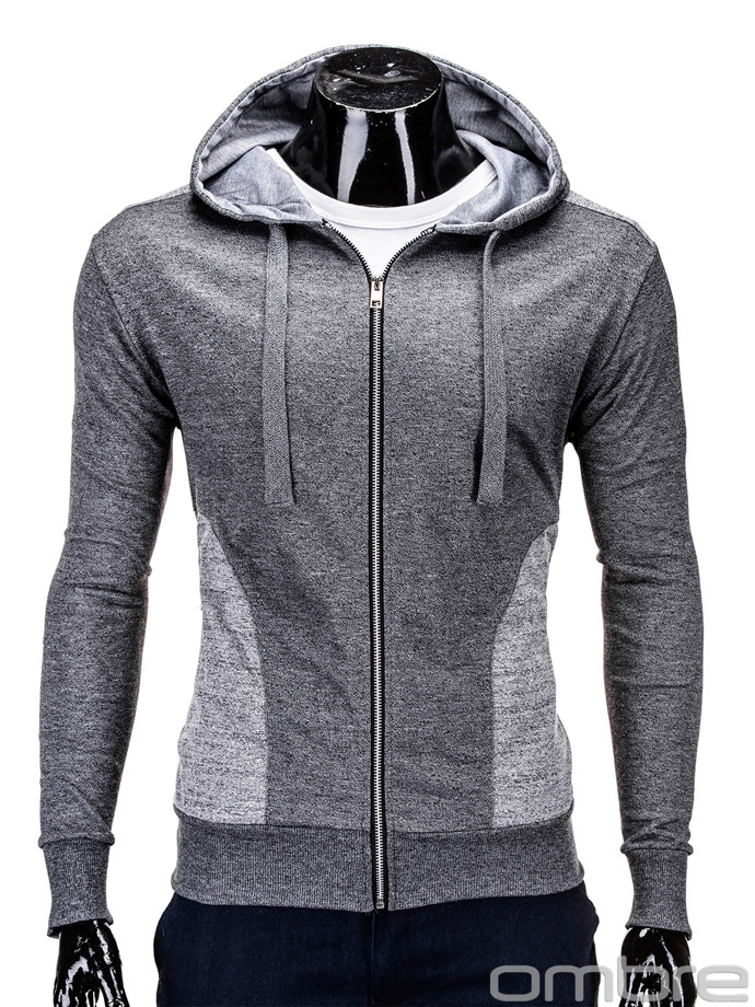 Men's sweatshirt B546 - dark grey