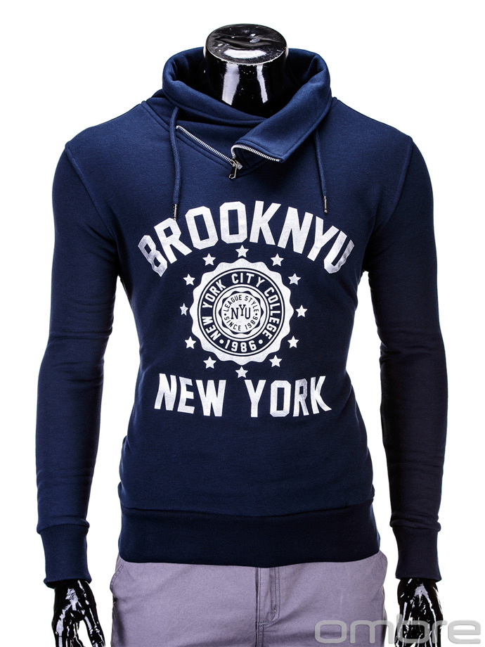 Men's sweatshirt B564 - navy
