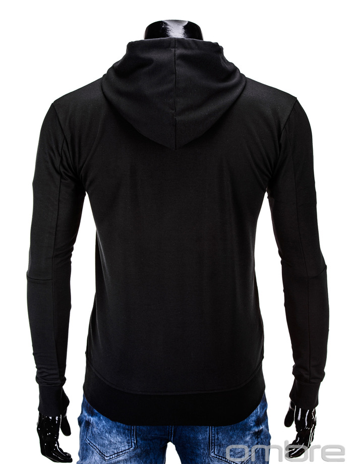Men's sweatshirt B569 - black