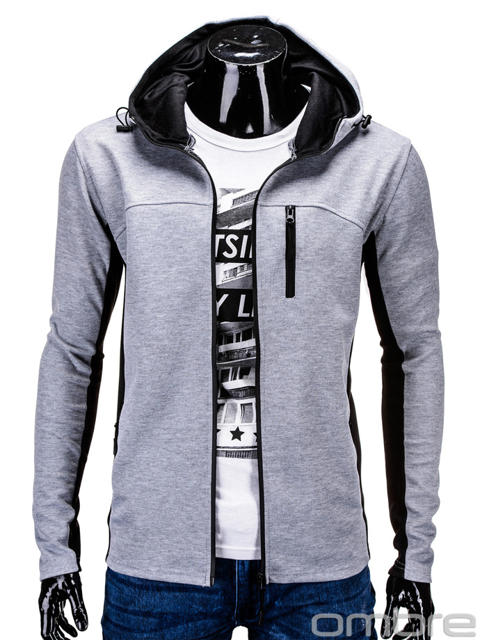 Men's sweatshirt B571 - grey