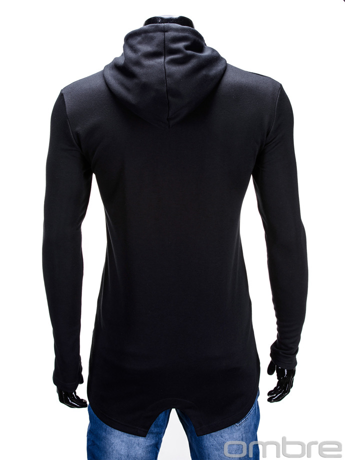 Men's sweatshirt B586 - black