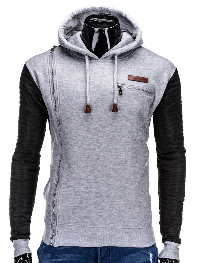 Men's sweatshirt B591 - grey