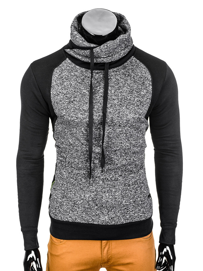 Men's sweatshirt B711 - dark grey