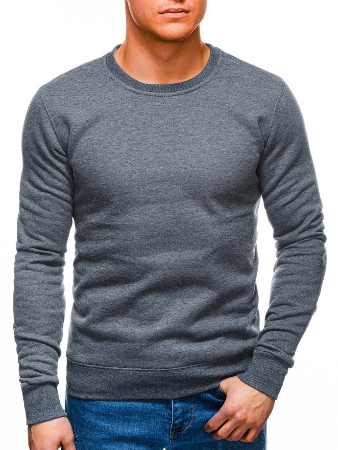Men's sweatshirt B874 - dark grey