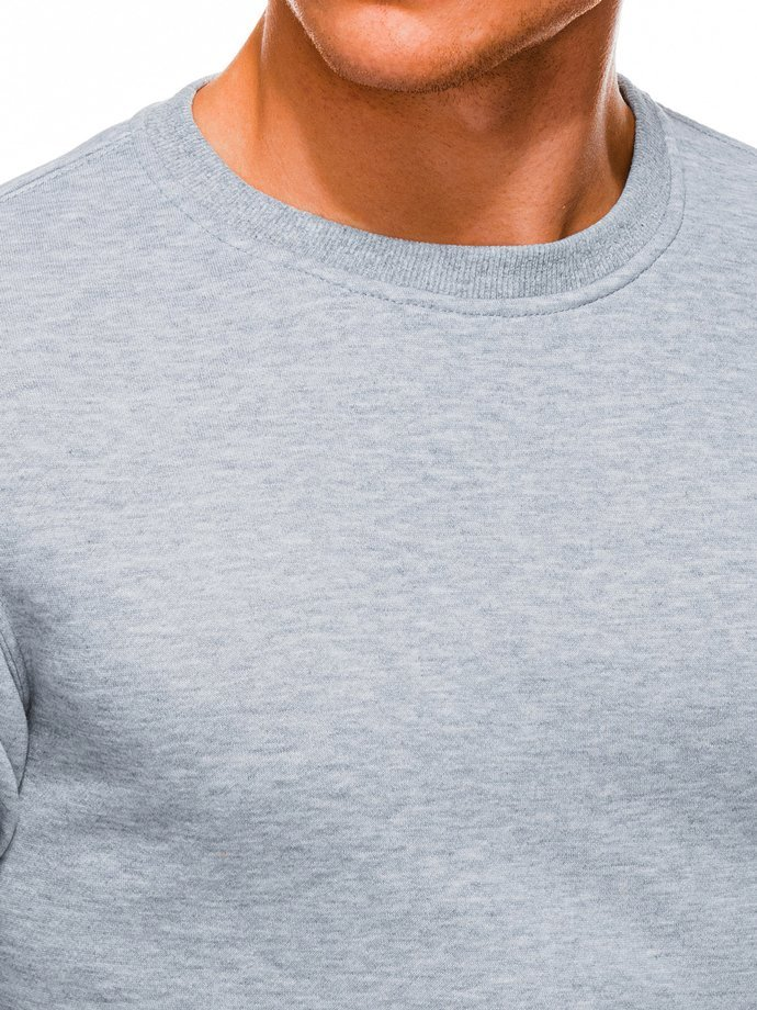 Men's sweatshirt B874 - grey