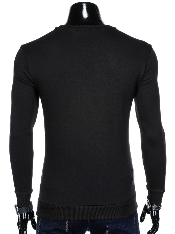 Men's sweatshirt B911 - black