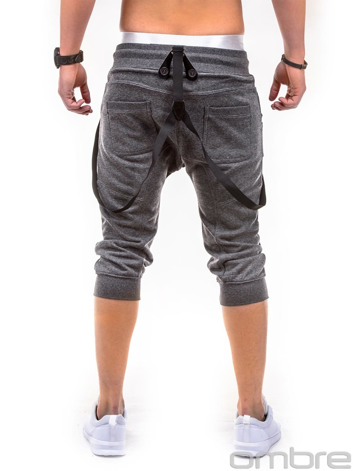 Men's sweatshorts P280 - dark grey