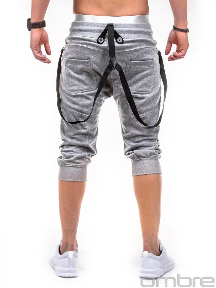 Men's sweatshorts P280 - grey