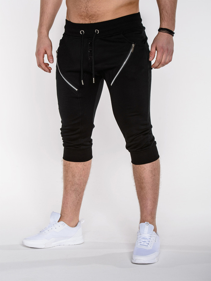 Men's sweatshorts P281 - black