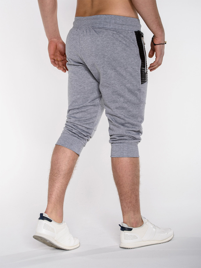 Men's sweatshorts P286 - grey