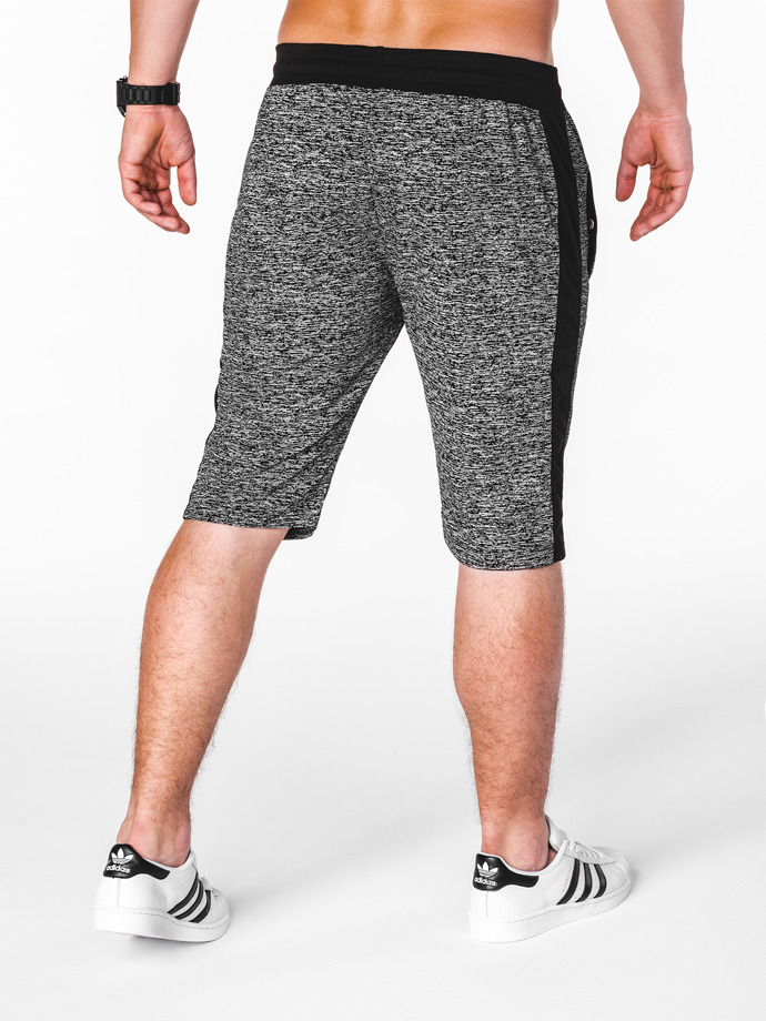 Men's sweatshorts W069 - black