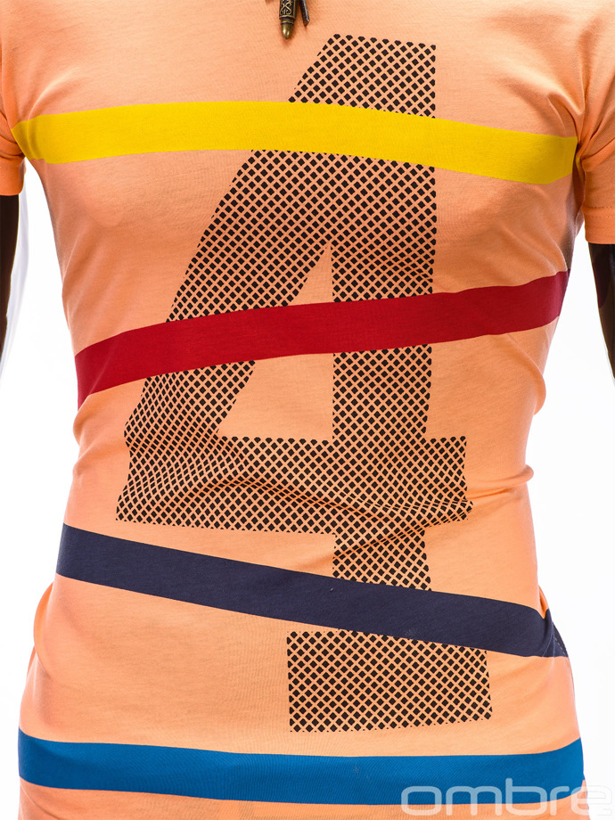 Men's t-shirt S405 - orange