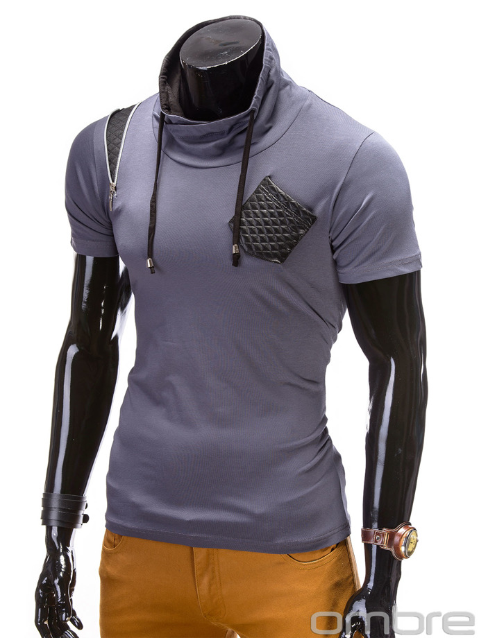 Men's t-shirt S476 - dark grey
