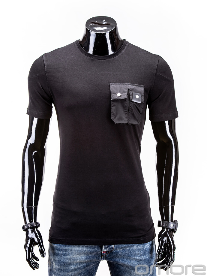 Men's t-shirt S525 - black