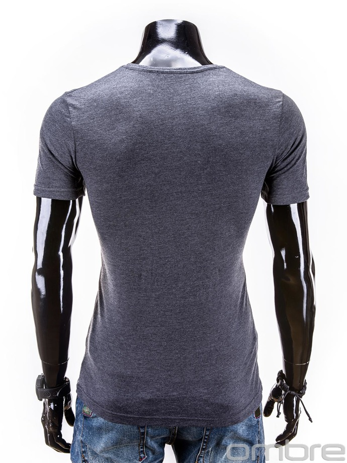 Men's t-shirt S534 - dark grey