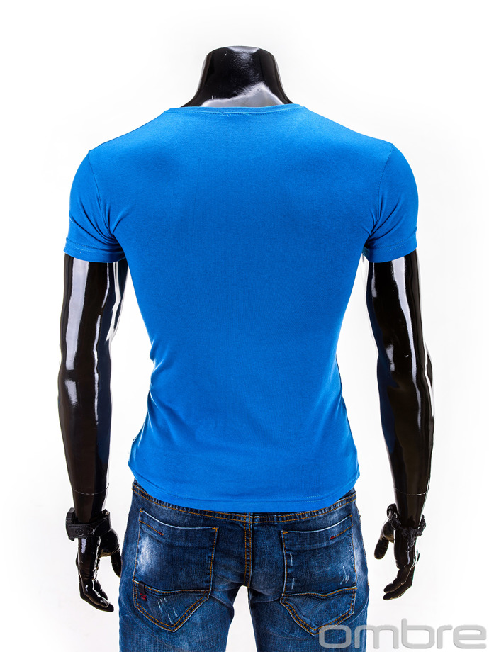 Men's t-shirt S549 - blue