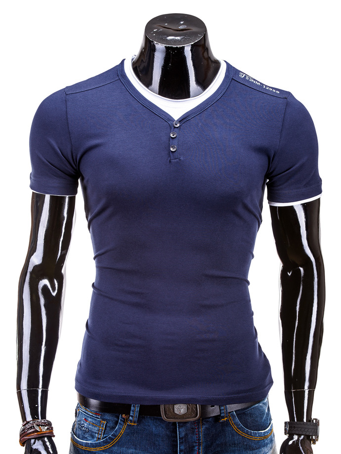 Men's t-shirt S562 - navy