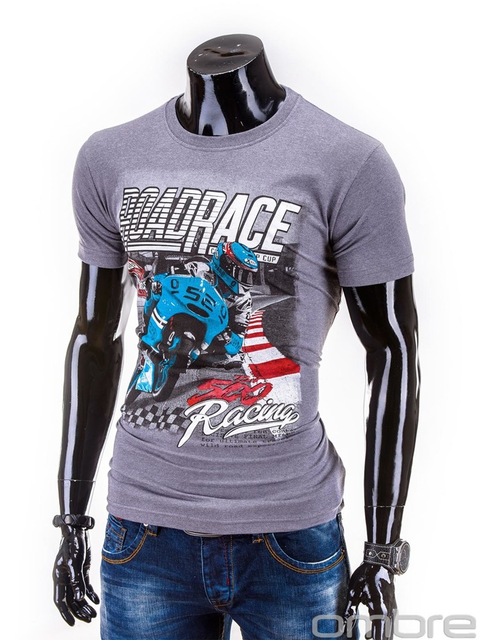 Men's t-shirt S584 - grey