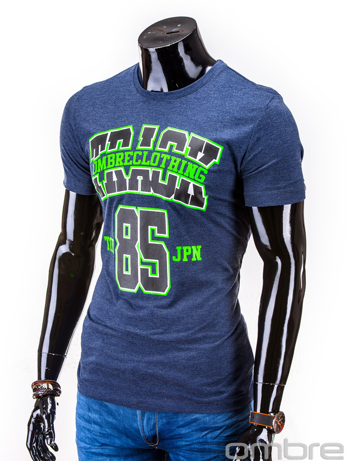 Men's t-shirt S599 - navy