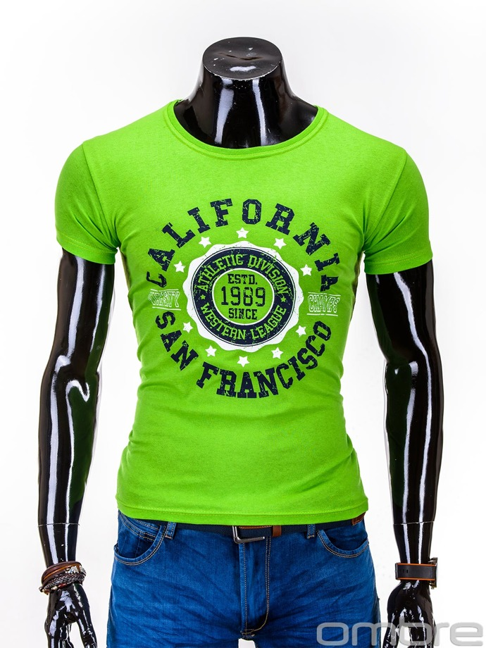 Men's t-shirt S600 - light green
