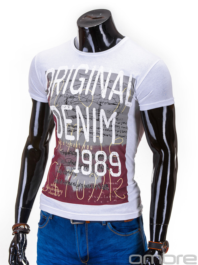 Men's t-shirt S603 - white