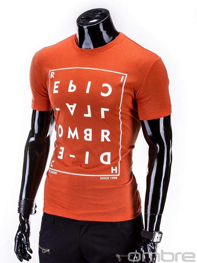 Men's t-shirt S612 - orange