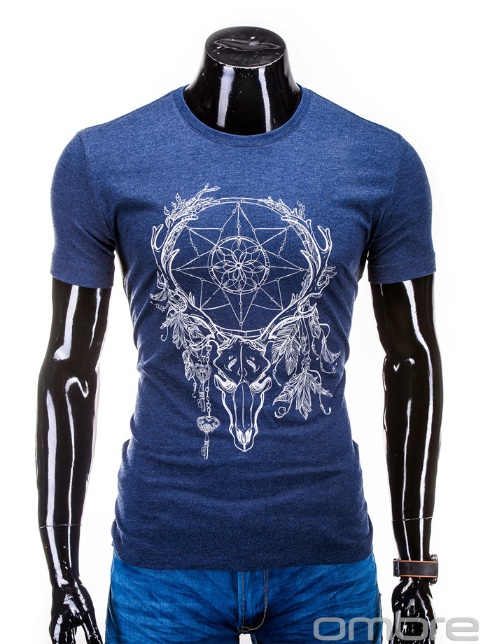 Men's t-shirt S615 - navy