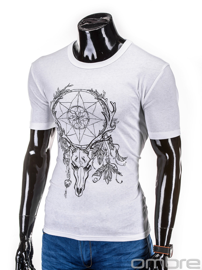 Men's t-shirt S615 - white