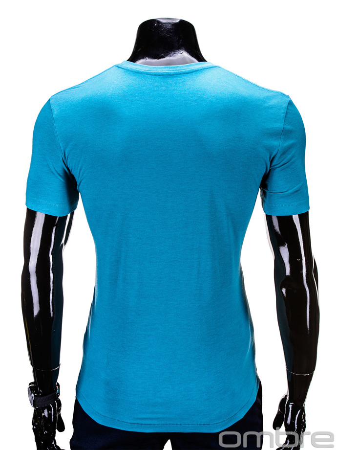 Men's t-shirt S619 - light blue