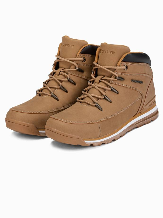 Men's winter shoes trappers T313 - beige