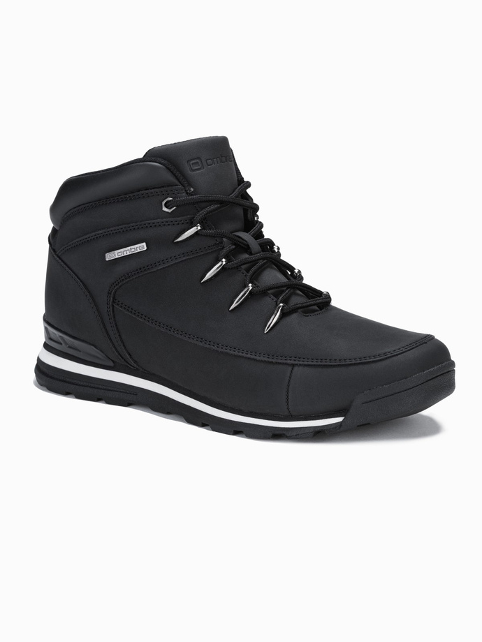 Men's winter shoes trappers T313 - black