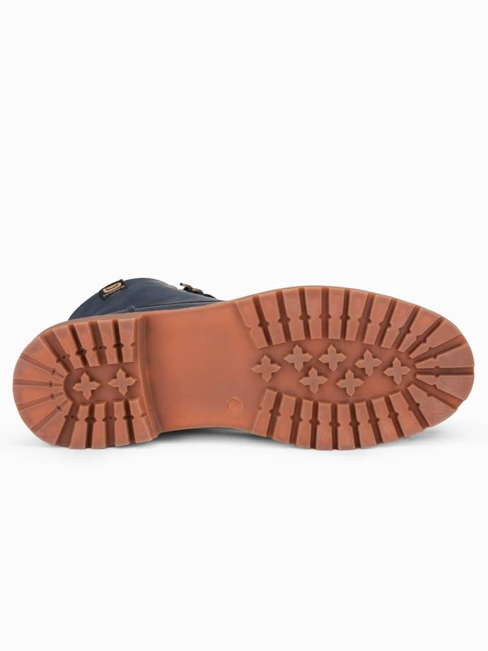 Men's winter shoes trappers T314 - navy