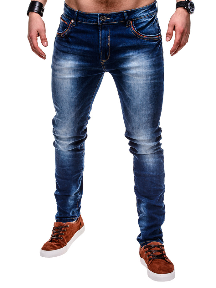 Pants P453 - denim
