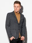 Men's casual blazer jacket M161 - black