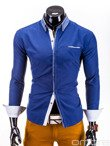 Men's shirt K235 - navy