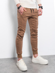 Men's sweatpants P867 - brown