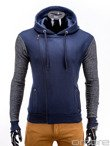 Men's sweatshirt B524 - navy