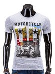 Men's t-shirt S577 - grey