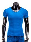 Plain men's t-shirt S605 - blue
